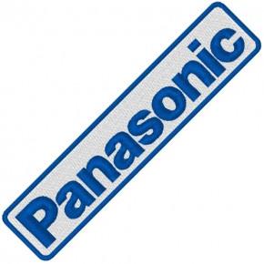 PANASONIC RALLY RACING PATCH AUFNÄHER APLIKATION 10x2cm