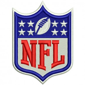 NFL 100EMBROIDERED FOOTBALL FAN AUFNÄHER PATCH 6x8cm