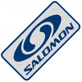 SALOMON SKI SPORT APLIKATION AUFNÄHER PATCH 8x4cm