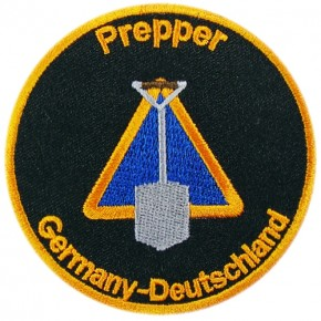 Prepper embroidered Patch D=3.15 inch