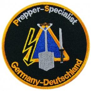 Prepper-Specialist Aufnähen Patch D=8cm gestickt