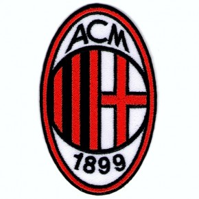 Fußball FUSSBALL AUFNÄHER PATCH AC Mailand Milan 6x10cm
