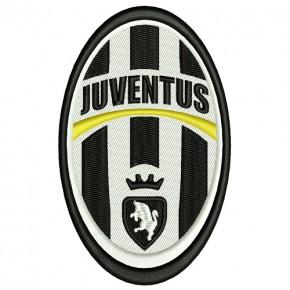 Fussball AUFNÄHER PATCH Fußball Juventus Turin 6x10cm