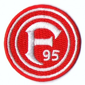 SOCCER Fortuna Duesseldorf Patch 100% embr.  national league D=1.97 inches