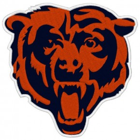 CHICAGO BEARS NFL FOOTBALL PATCH 10x10cm