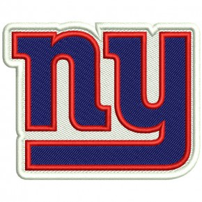 NEW YORK GIANTS NFL FOOTBALL PATCH 8x6cm