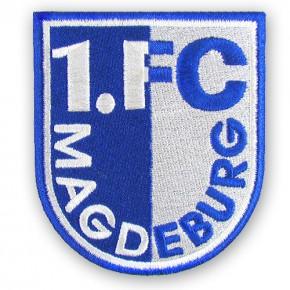 Fußball FUSSBALL SPORT AUFNÄHER PATCH 1. FC MAGDEBURG 8x9cm