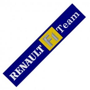 RALLY RACING AUFNÄHER PATCH RENAULT F1 14x3cm