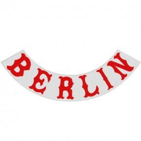 Rücken Aufnäher Back Biker Patch BERLIN 43x16cm