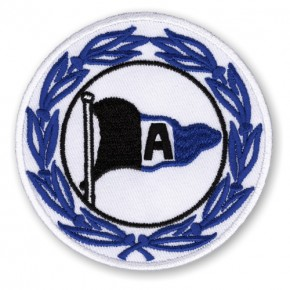 Arminia Bielefeld AUFNÄHER Fußball FUSSBALL PATCH D=8cm