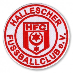 Hallescher FC national league GERMANY SOCCER EMBROIDERED PATCH D=8CM (D=3.1 inch)