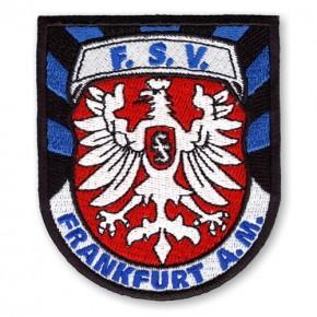 FSV Frankfurt AUFNÄHER Fußball FUSSBALL PATCH D=8cm