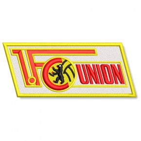 1. FC Union Berlin national league GERMANY SOCCER EMBROIDERED PATCH 10x4cm (3.93x1.57 inch)