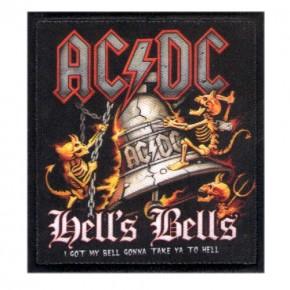 Musik AUFNÄHER PATCH AC DC ACDC gedruckt 7,5x8cm