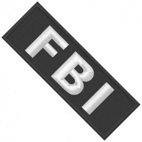 FBI Aufnäher Spezialeinheit 10x3,5cm