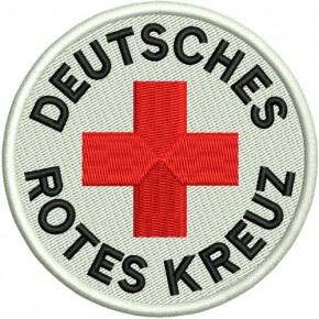 Biker Patch DRK D=8cm (D=3.15 inch)