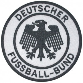 GERMANY SOCCER FAN EMBROIDERED PATCH DFB D=9,7cm (3.81 inch)