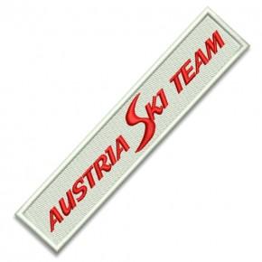 ÖSV Austria SKI Team AUFNÄHER PATCH Sponsoren Aufnäher 12x2,5cm