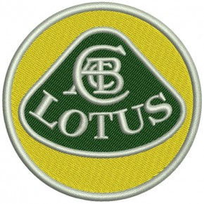 Rally Racing Formel 1 AUFNÄHER PATCH Lotus D=8cm