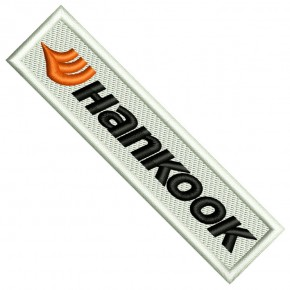 Rally Racing Formel 1 AUFNÄHER PATCH HANKOOK 10x2,5cm