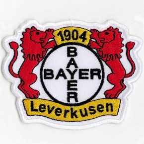 Fußball FUSSBALL FAN AUFNÄHER PATCH Bayer 04 Leverkusen 8,5x6,5cm