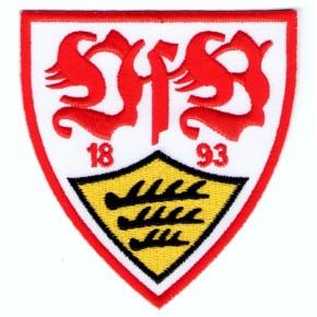 Fussball AUFNÄHER PATCH Fußball VFB Stuttgart 1893 7x8cm