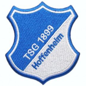 Fussball AUFNÄHER PATCH Fußball TSG 1899 Hoffenheim 100% gestickt 7,5x8cm