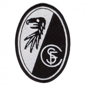 Fussball AUFNÄHER PATCH Fußball SC Freiburg 100% gestickt 6x8cm