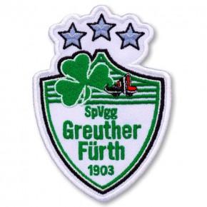 SpVgg Greuther Fürth AUFNÄHER Fußball FUSSBALL PATCH 7x10cm