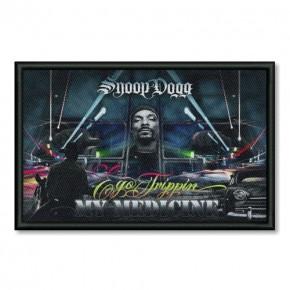 Musik AUFNÄHER PATCH Snoop Dogg gedruckt 10x6,5cm