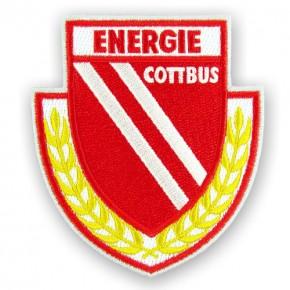 Energie Cottbus AUFNÄHER Fußball FUSSBALL PATCH 7x8cm
