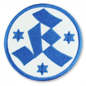 Stuttgarter Kickers national league GERMANY SOCCER EMBROIDERED PATCH D=8cm (D=3.15 inch)