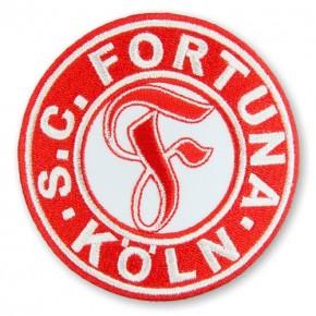 SC Fortuna Köln AUFNÄHER Fußball FUSSBALL PATCH D=8cm