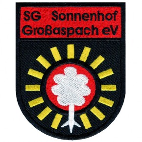 SG Sonnenhof Grossaspach national league GERMANY SOCCER EMBROIDERED PATCH 6x8cm (2.36x3.15 inch)
