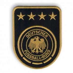 Fußball FUSSBALL FAN AUFNÄHER DFB Weltmeister 7x9cm