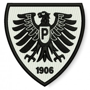 Preußen Muenster national league GERMANY SOCCER EMBROIDERED PATCH 10x7cm (2.99x3.15 inch)